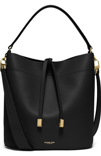 Michael Kors 'Medium Miranda' Leather Bucket Bag