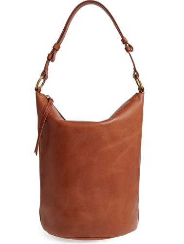 Madewell O-Ring Leather Bucket Bag