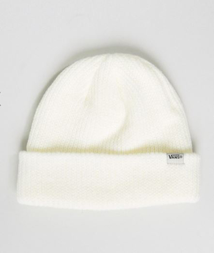 Vans Core Beanie In Off White