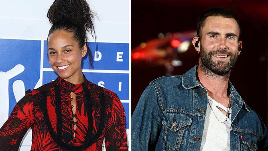 alicia keys adam levine