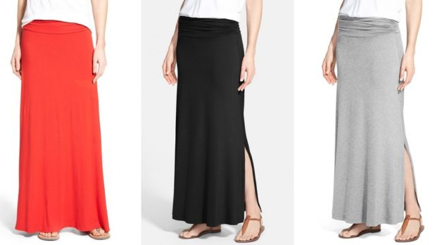 Nordstrom Shoppers <em>Love</em> This Crazy Comfortable Maxi Skirt