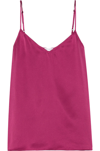 Equipment Layla washed-silk camisole