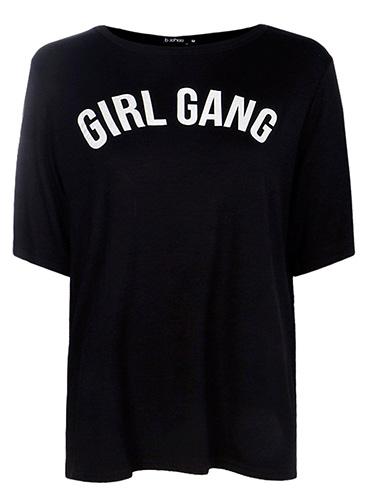Flora Girl Gang Oversized T-Shirt