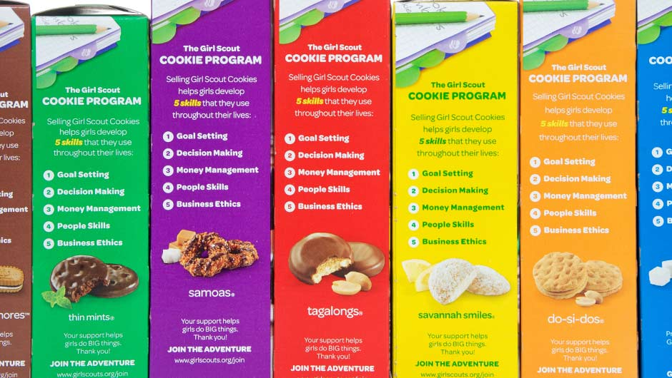these are the most popular girl scout cookies by state