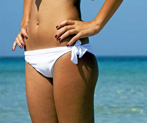 beach tan