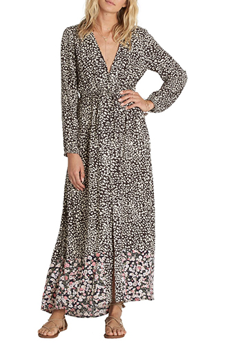 Allegra Print Maxi Dress