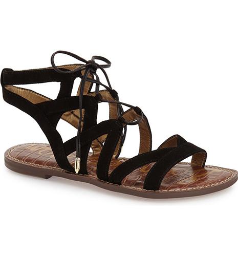 'Gemma' Lace-Up Sandal
