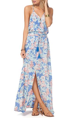 Mia Flores Maxi Dress