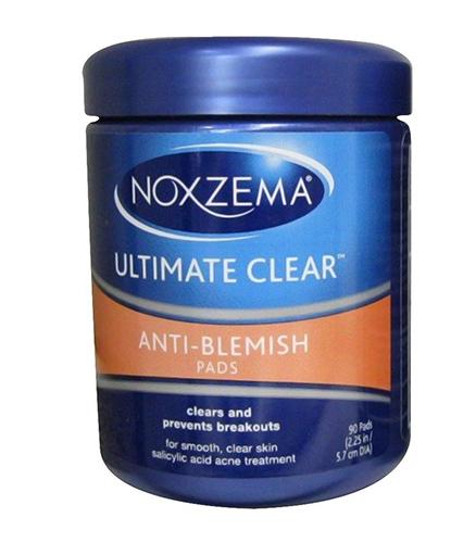 Noxzema Ult-Clear Anti-Blemish Pads 90 Count