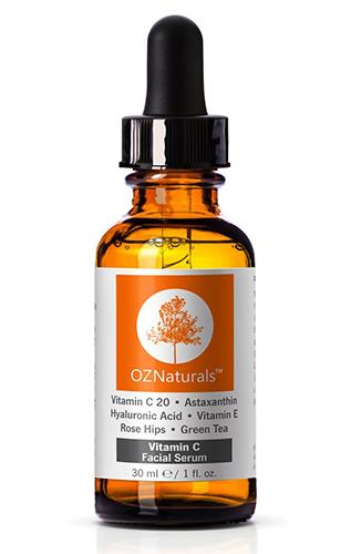 OZNaturals Anti-Wrinkle Anti-Aging Vitamin C Serum with Hyaluronic Acid