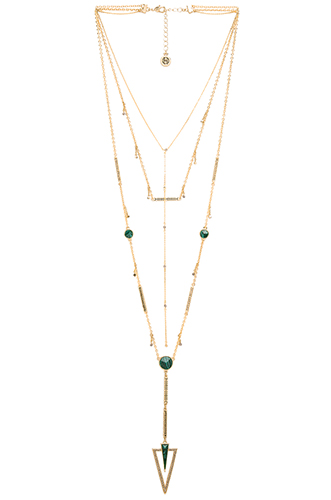SOUTH POINT LAYERED NECKLACE