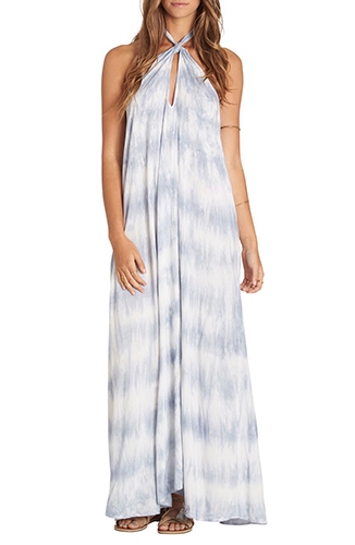 Sky's the Limit Tie Dye Maxi Dress