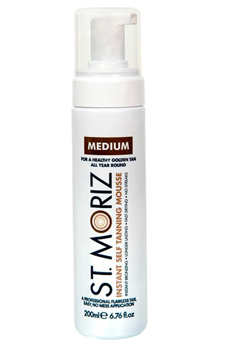 St. Moriz Instant Self Tanning Mousse Medium