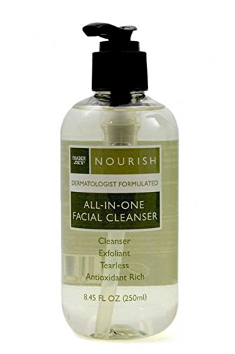 trader joes nourish all in one facial cleanser