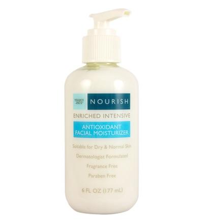 trader joes nourish antioxidant facial moisturizer