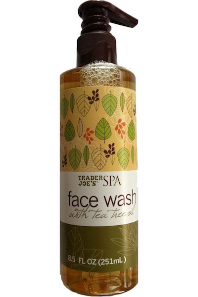 trader joes spa face wash with tea tree oil