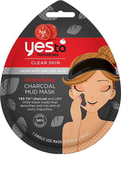 YES TO Tomatoes Clear Skin Detoxifying Charcoal Mud Mask