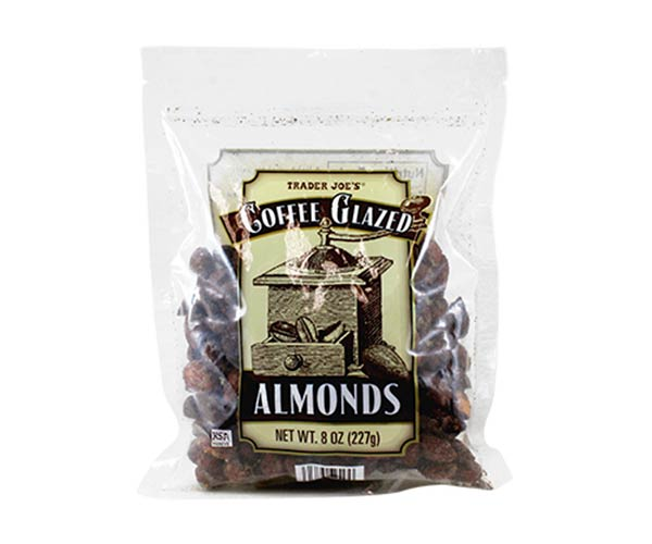 trader joes coffee glazed almonds