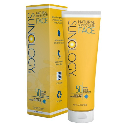 Sunology Natural Sunscreen Lotion for Face - SPF 50