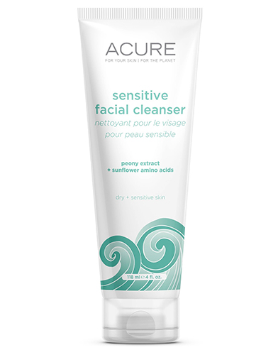Acure Organics Sensitive Facial Cleanser Argan Oil + Probiotic