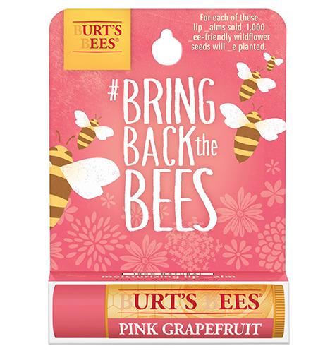 Burt's Bees #BringBacktheBees Pink Grapefruit Lip Balm
