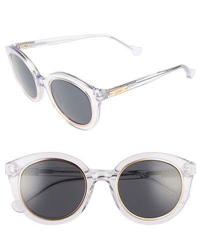 Holland 50mm Gradient Round Sunglasses