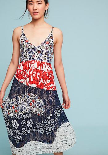 Anthropologie Isa Midi Dress
