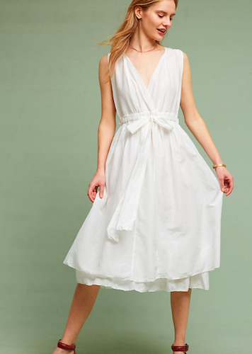 Anthropologie Julietta Midi Dress