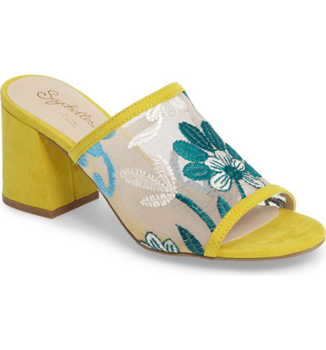 Nursery Block Heel Sandal