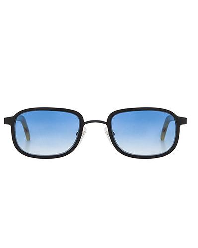 Style I Metal & Horn Sunglasses