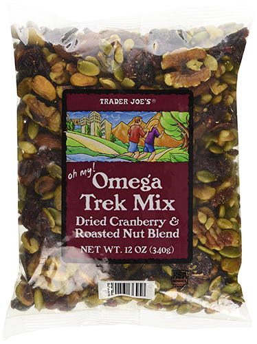 Trader Joe's Omega Trek Mix with Fortified Cranberries