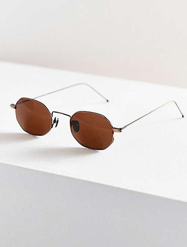Vintage Pluma Oval Sunglasses