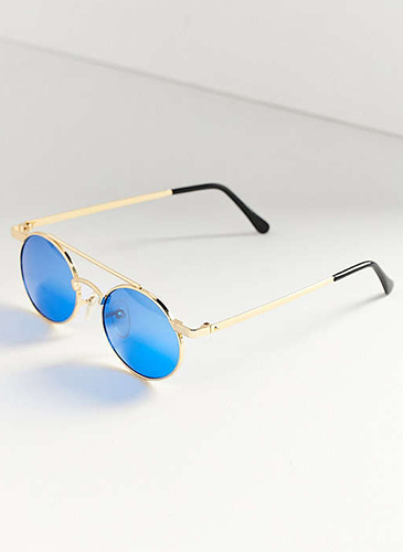 Vintage Zackly Oval Sunglasses