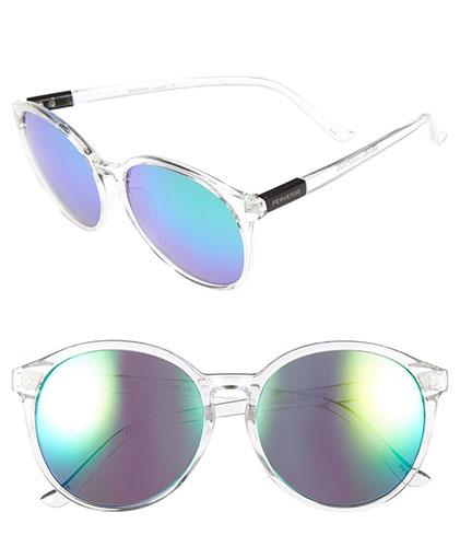 'Zero Chill' 57mm Round Sunglasses