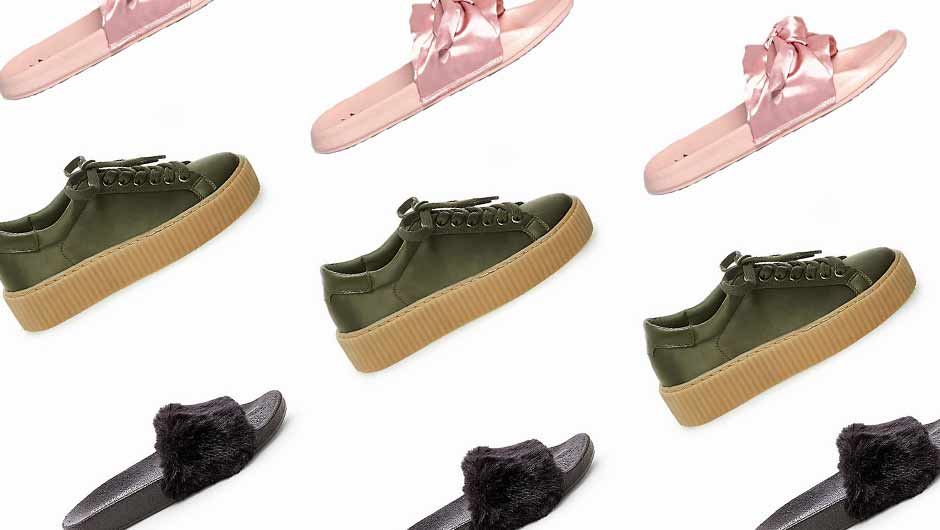 a2347bb1a3f2 9 Fenty x Puma Dupes You ll Love Just As Much As The Originals ...