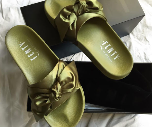 017e567236b4 How I Learned That You Can t Actually Wear Fenty x Puma Pool Slides ...