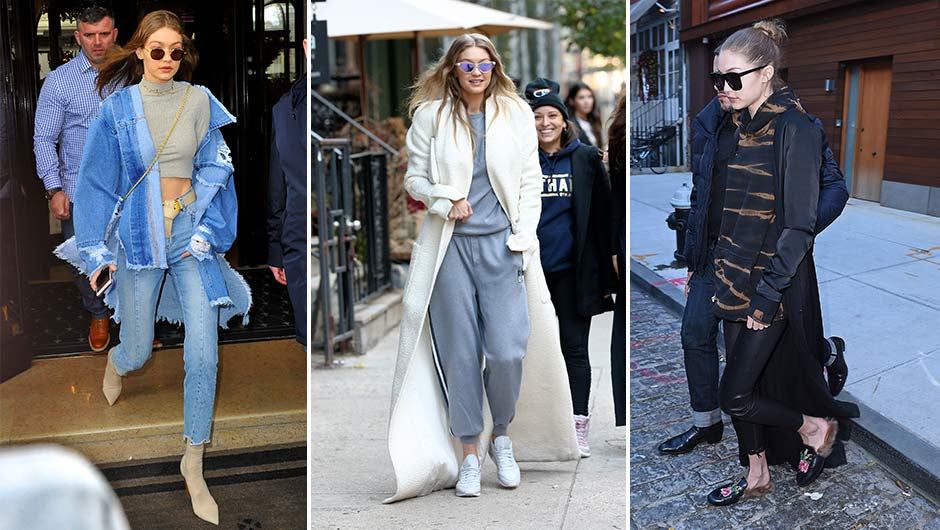 df322a939d3ff The Only 4 Shoes You Need, According To Gigi Hadid Who Wears Them On Repeat