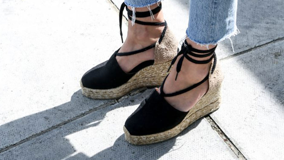 5b47cc26e4d Wedge espadrilles are the perfect choice for those spring and summer days  when you want to dress up