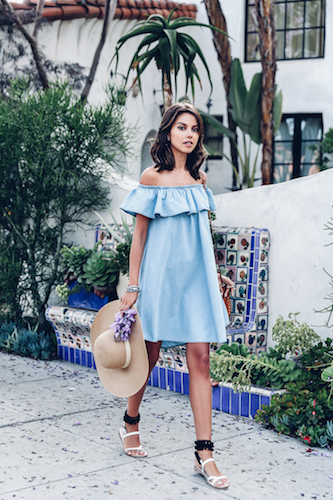 79cd2b93abdb Not Sure How To Make An Off-The-Shoulder Dress Work This Season ...