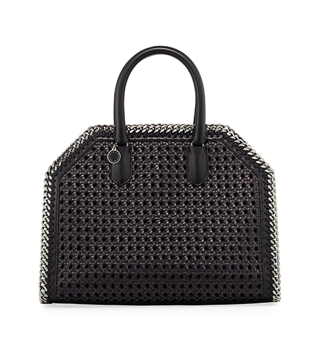 Stella McCartney Falabella Medium Wicker Tote Bag