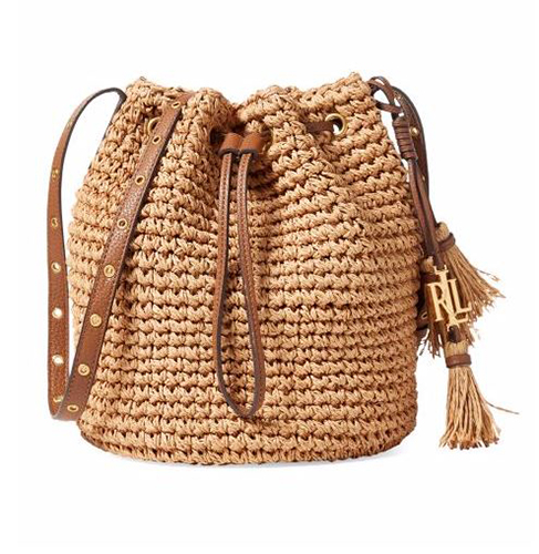 Lauren Ralph Lauren Janice Straw Bag