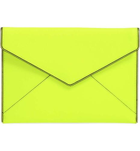 'Leo' Envelope Clutch