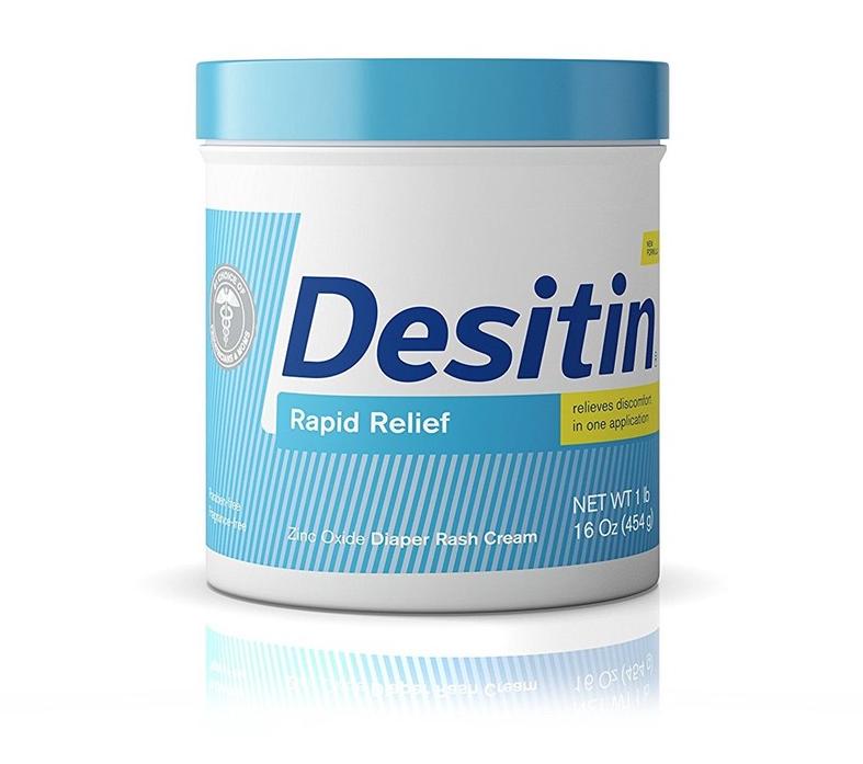 Moisturize With Diaper Rash Cream