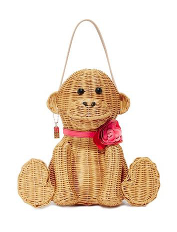 Kate Spade New York Wicker Monkey Bag