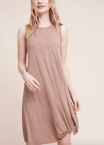 anthropologie tank dress