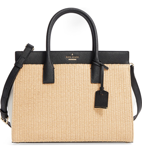 Cameron Street Candace Straw Satchel