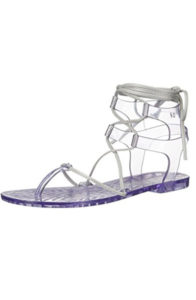 amazon zazy women's nuar glass jelly sandal