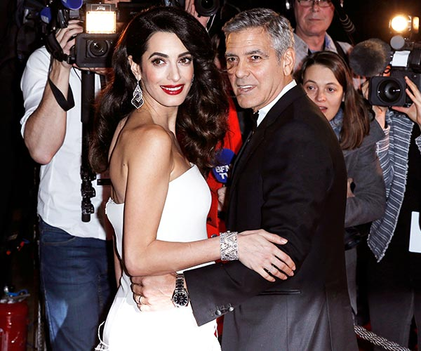 gorge and amal clooney twins