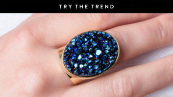 Druzy Jewelry Is Trending For Summer--Snag A Statement Piece Now