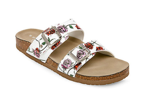 74f0f5762dae You ll definitely stand out from the plain-old Birkenstock crowd with these  playful sandals. Not to mention they re a huge bargain!